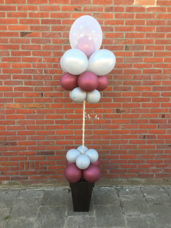 Ballonen pilaar led bloempot
