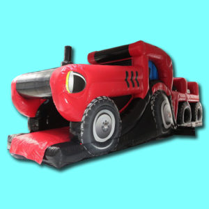 Springkussen Tractor hindernisbaan