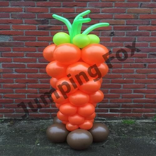 Ballonnen pilaar wortel