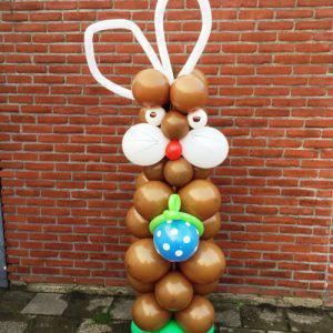 ballonnen pilaar Paashaas