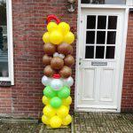 Ballonnen pilaar Piet