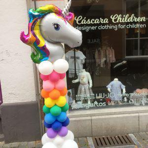 Ballonnenpilaar Eenhoorn (Unicorn)