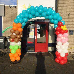 Ballonnenboog Sinterklaas en Piet