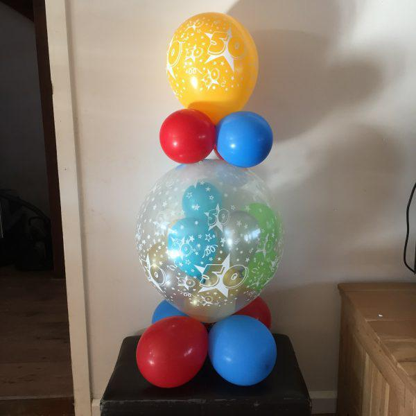 50 jaar cadeau ballon