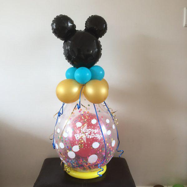 Ballonnen cadeau mickey