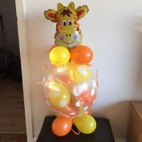 giraf ballonnen cadeau