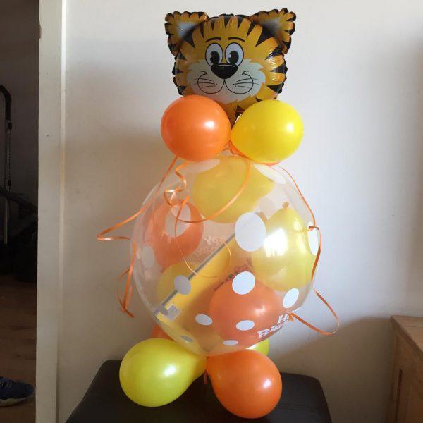 tijger cadeau ballon