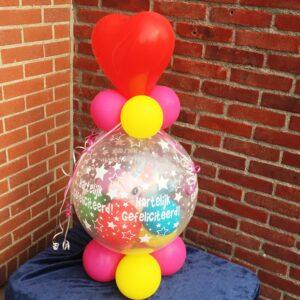 Ballonnen cadeau hart