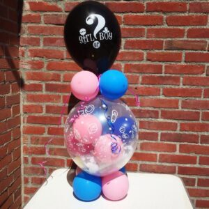 Ballonnen cadeau gender reveal