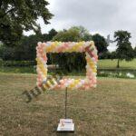 Ballonnen pilaar foto frame