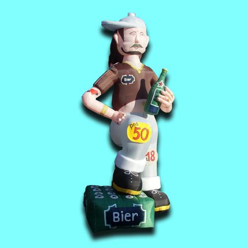opblaas figuren abraham met bier