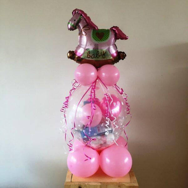 ballonnen cadeau baby met paard