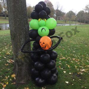 Ballonnenpilaar heks