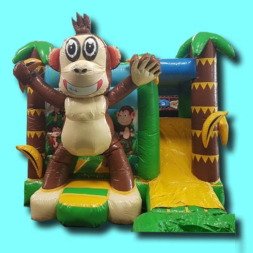 Springkussen Monkey met plonsbad